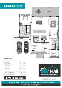 Acacia 262 Floor Plan (Click to Download Plan)